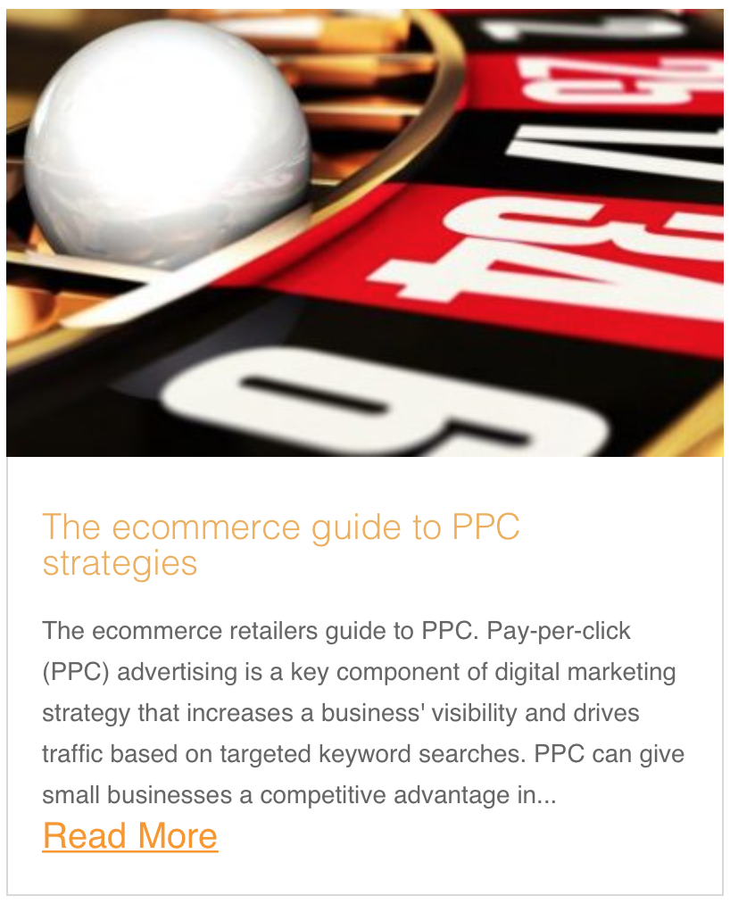 The ecommerce guide to PPC strategies