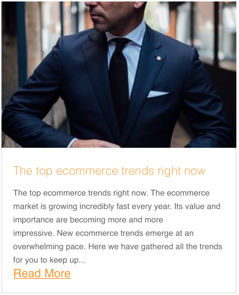The top ecommerce trends right now