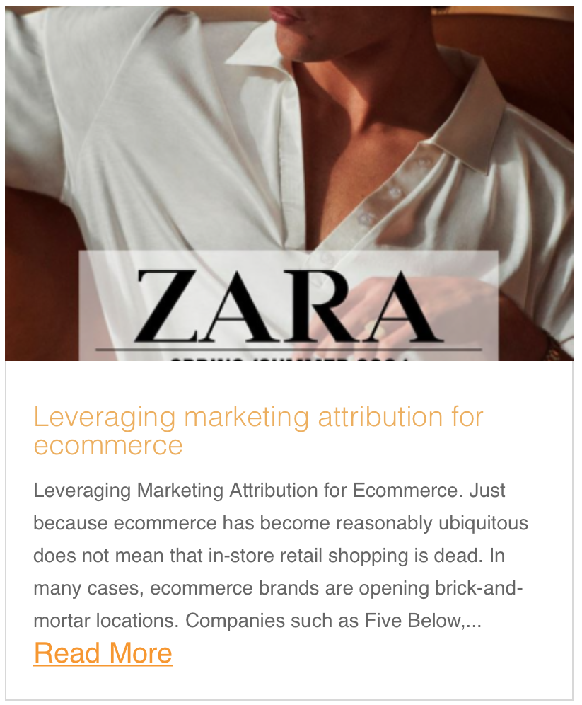 Leveraging Marketing Attribution for Ecommerce