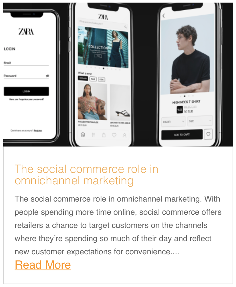 The social commerce role in omnichannel marketing