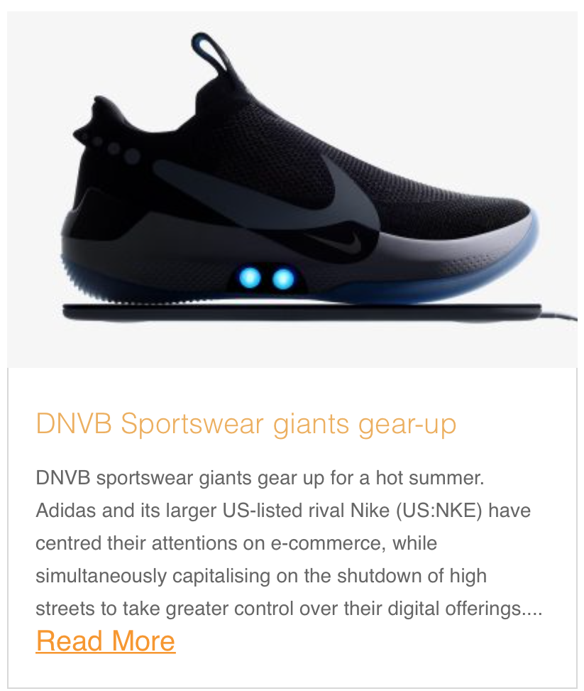 DNVB Sportswear giants gear-up