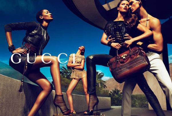 Gucci remains the most popular luxury brand online