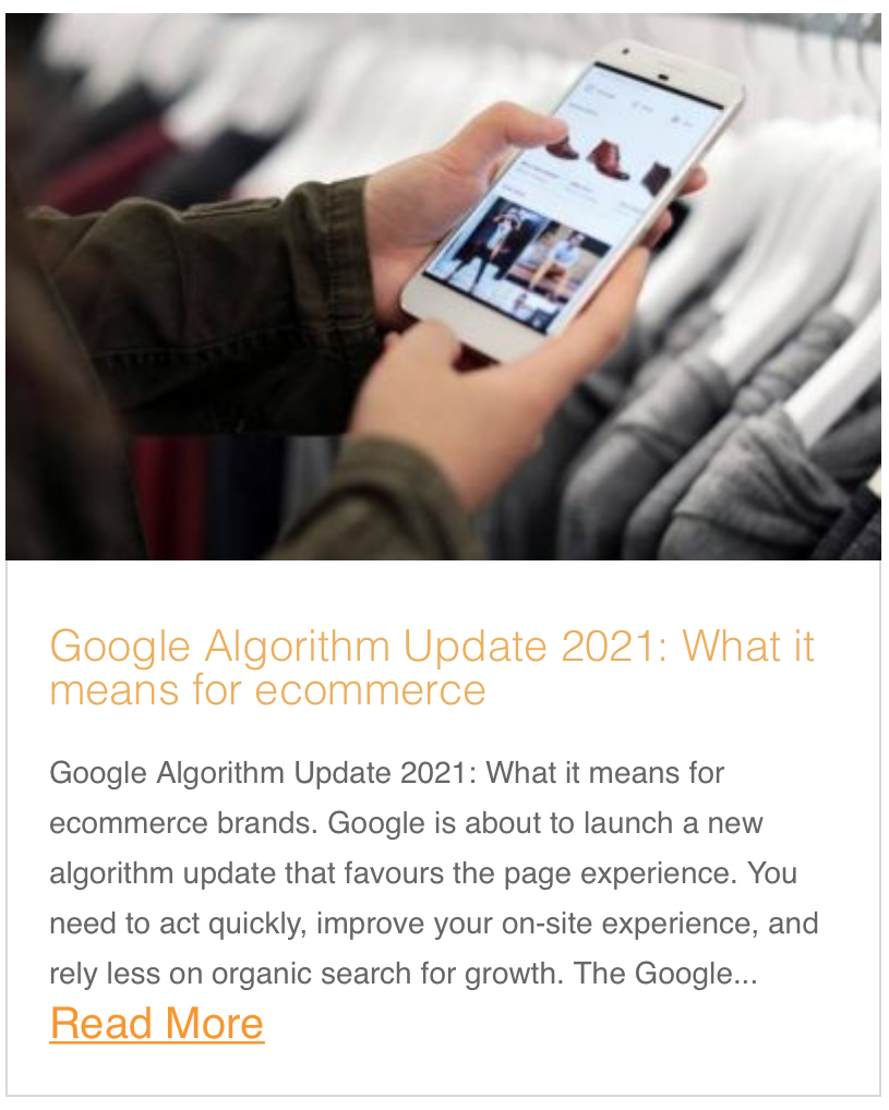 Google Algorithm Update 2021: What it means for ecommerce