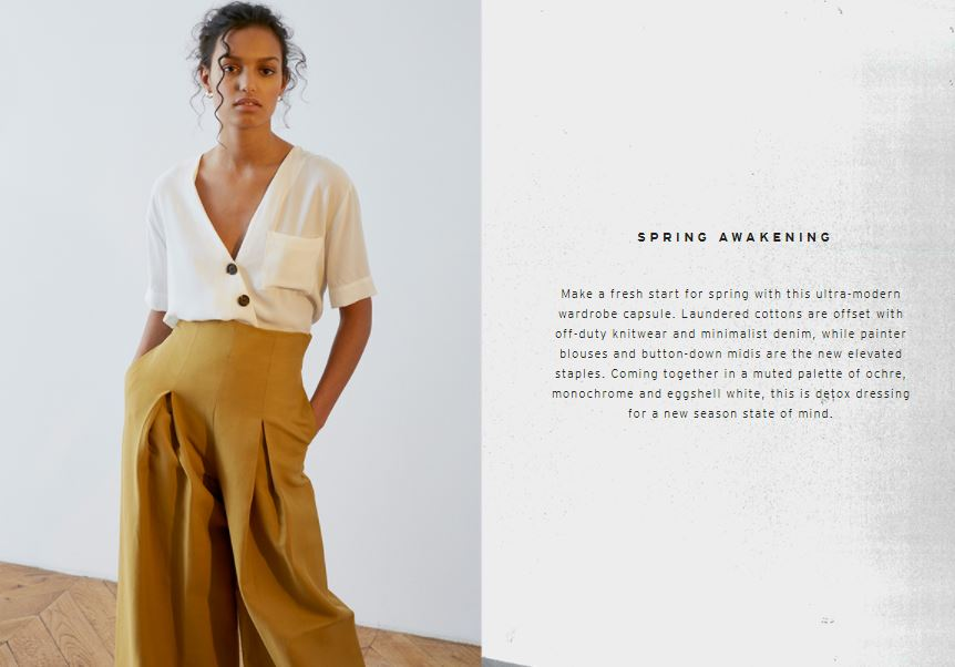 The content marketing trend in fashion