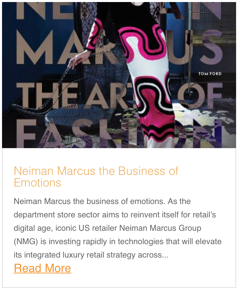 Neiman Marcus the Business of Emotions