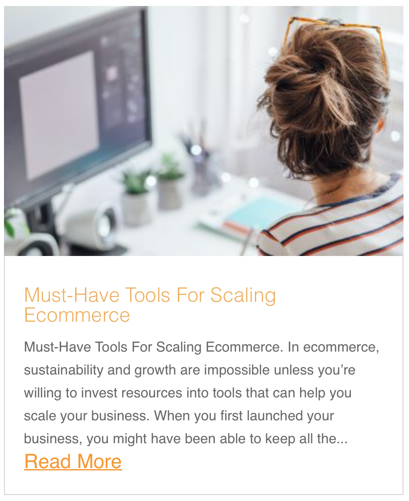Must-Have Tools For Scaling Ecommerce