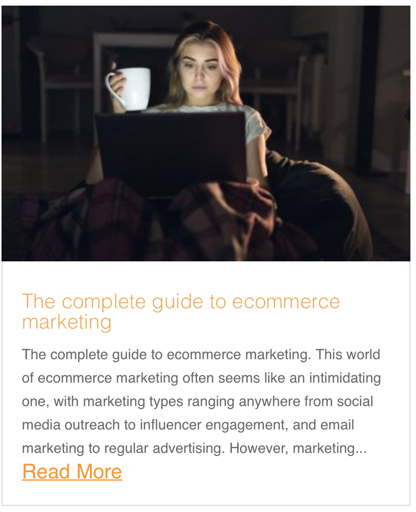 The complete guide to ecommerce marketing