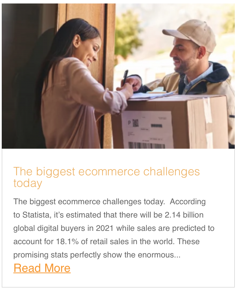 The biggest ecommerce challenges today