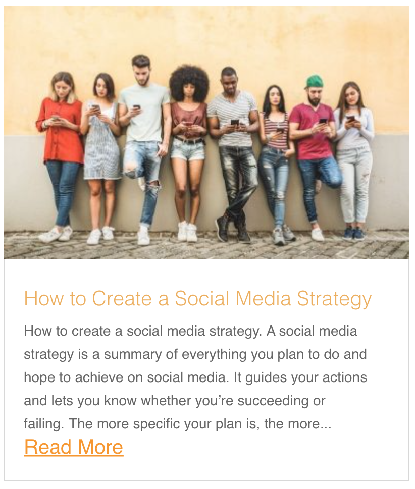 How to Create a Social Media Strategy