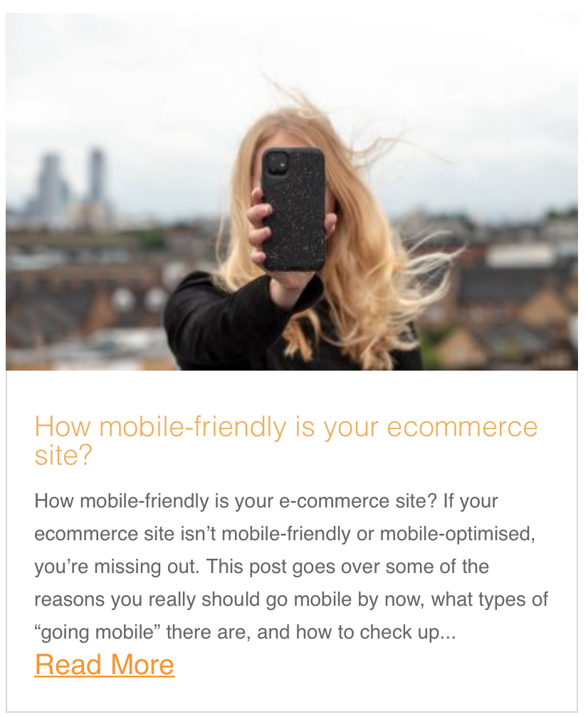 How mobile-friendly is your ecommerce site?