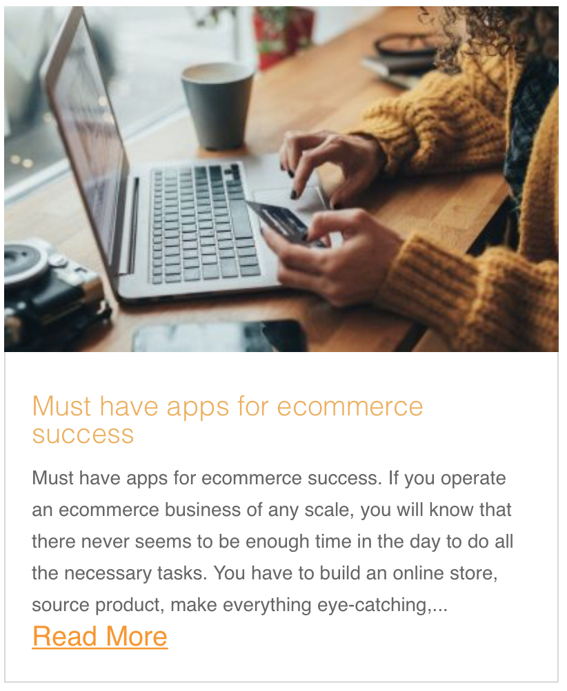 Must have apps for ecommerce success