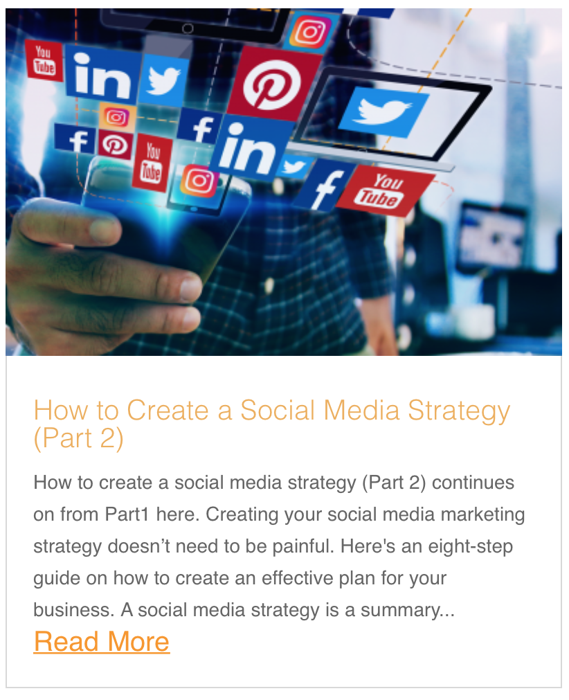 How to Create a Social Media Strategy (Part 2)
