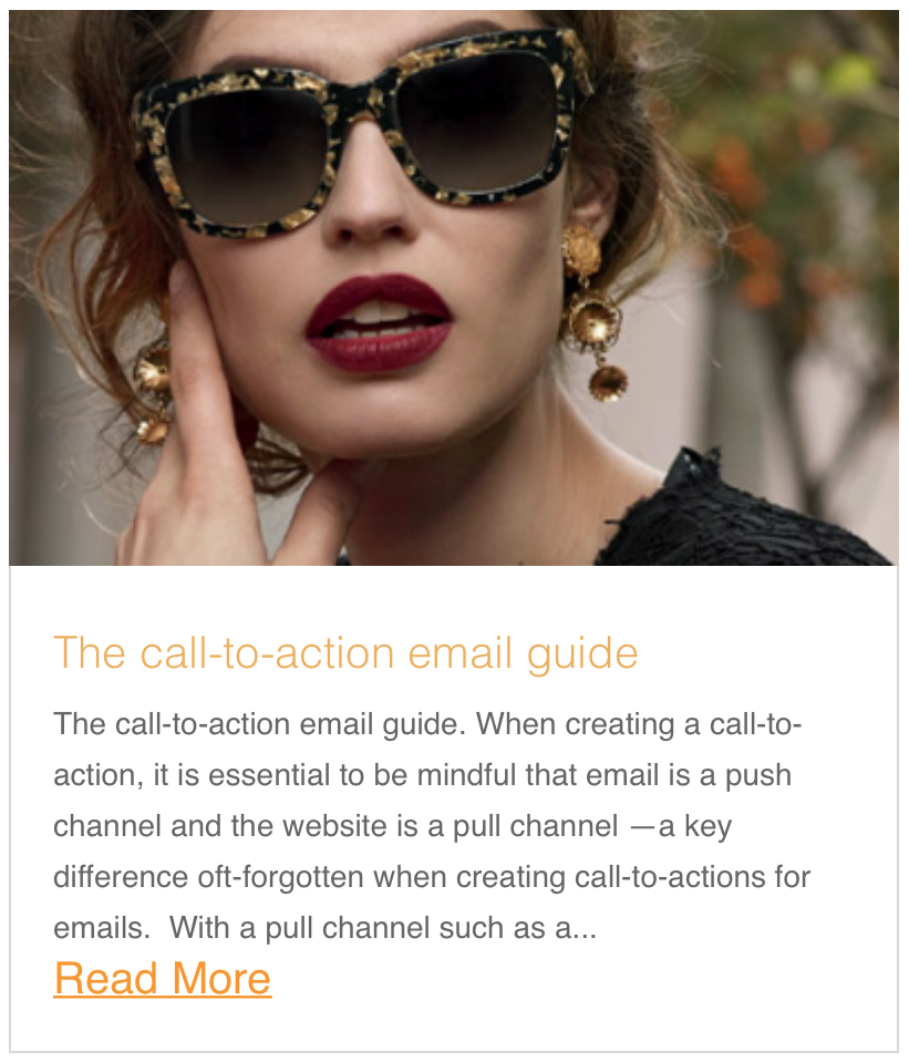 The call-to-action email guide