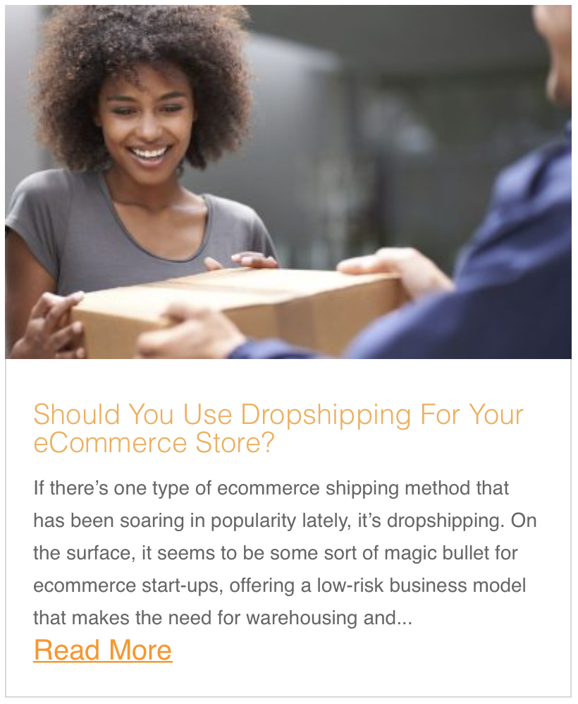 Should You Use Dropshipping For Your eCommerce Store?