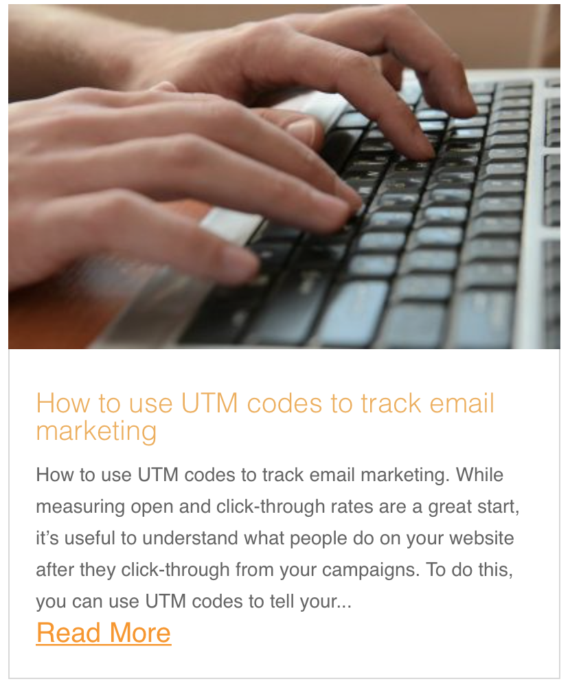 How to use UTM codes to track email marketing
